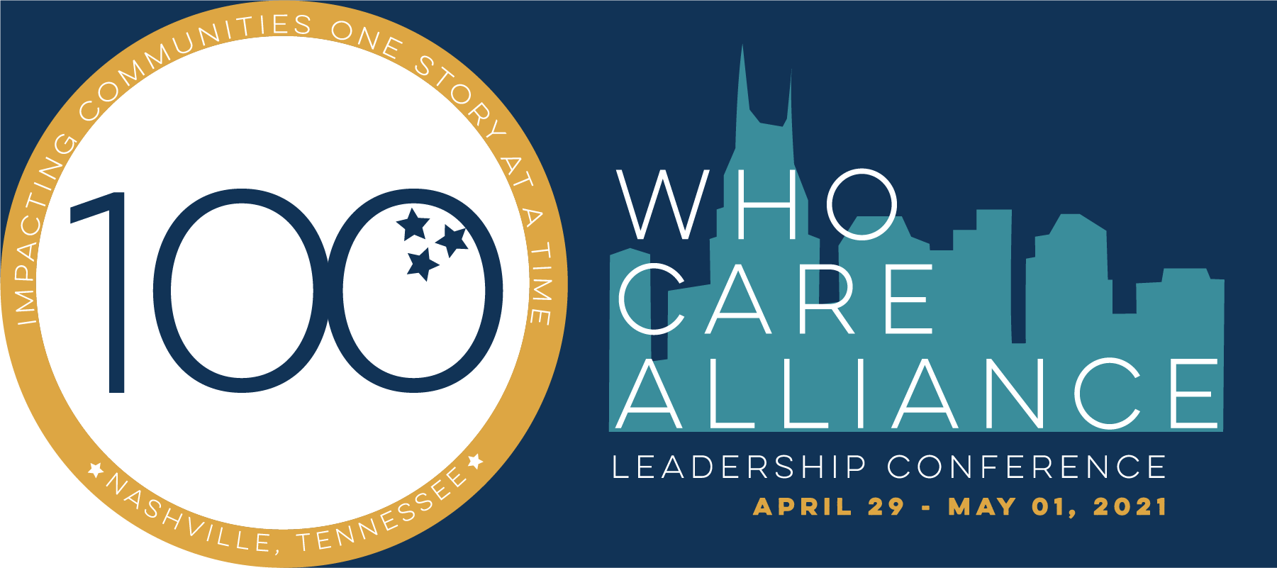 100 who care alliance 2021 conference logo